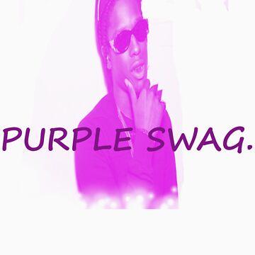 Purple Swag by mkgiorgio