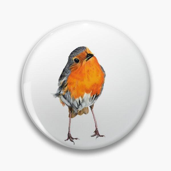 Christmas Robin Pin