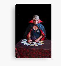 Tarot Card Lady Canvas Print