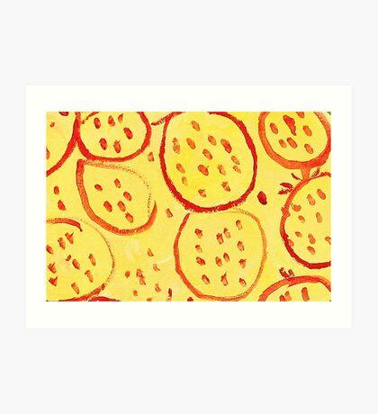Impression Pomegranate Art Print