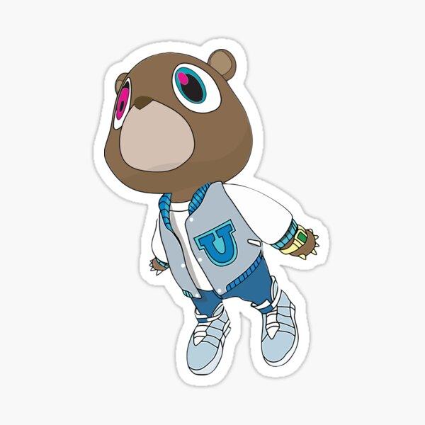 Kanye - Graduación Pegatina
