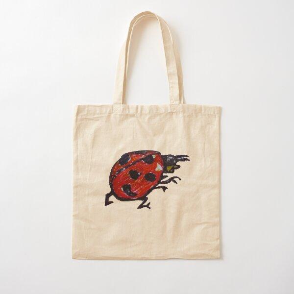Lil' Ladybug Cotton Tote Bag