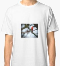 Cardinal on a wire Classic T-Shirt