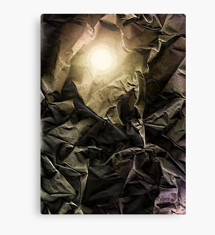 Folding In Canvas Print