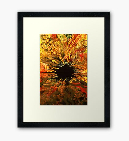 Flash of Energy I Framed Print