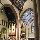 St. Paul's Episcopal Cathedral - Interior by Ray Vaughan