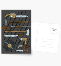 Horrible Weapons Postcards
