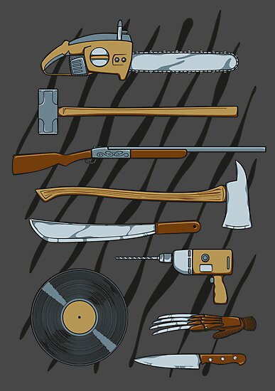 Horrible Weapons by DoodleDojo