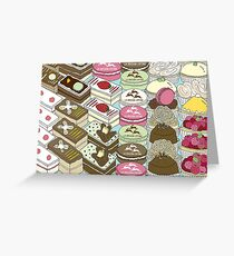 Cakes Cakes Cakes Greeting Card