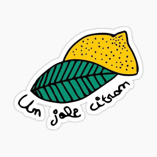 Pretty Nice Lemon Sticker