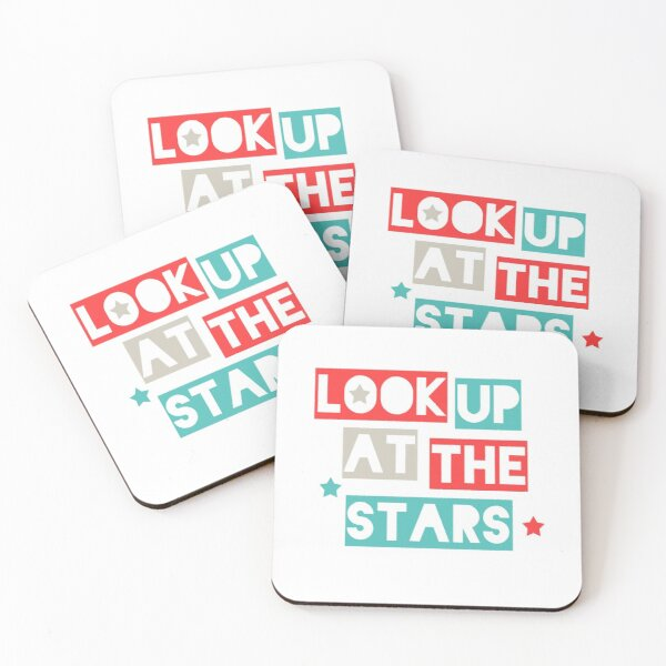 Look Up At The Stars Coasters (Set of 4)