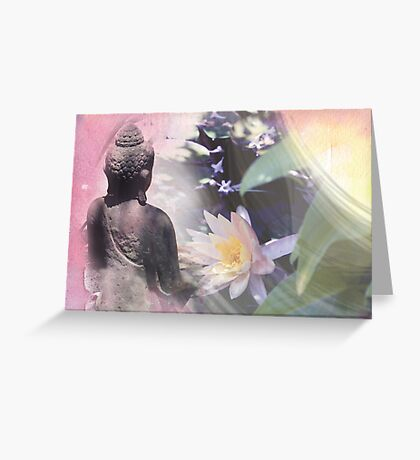 Garden Meditations... Greeting Card