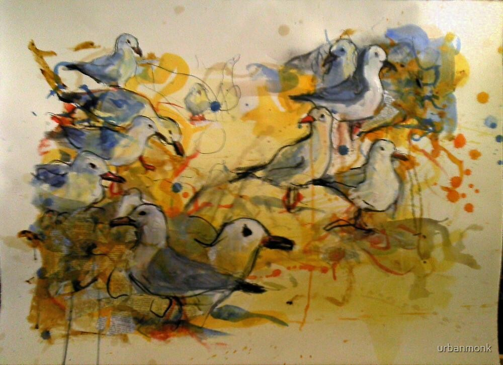 Seagulls #2 by urbanmonk