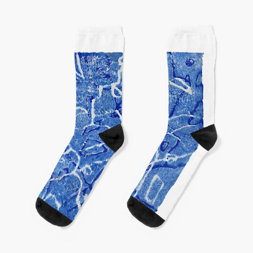 Caribbean Sea Socks
