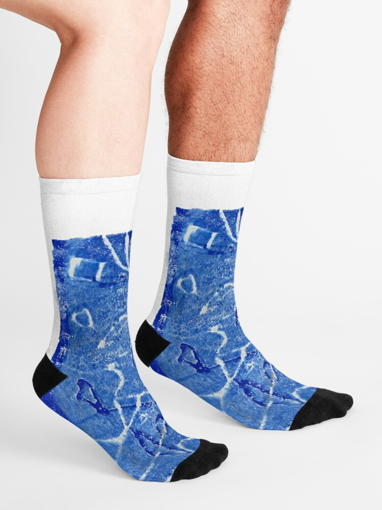 Alternate view of Caribbean Sea Socks