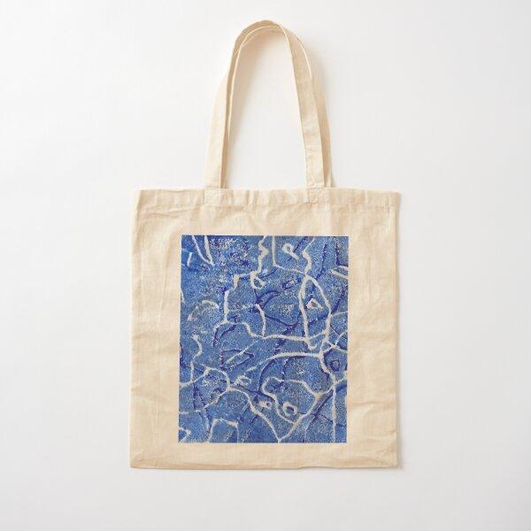 Caribbean Sea Cotton Tote Bag