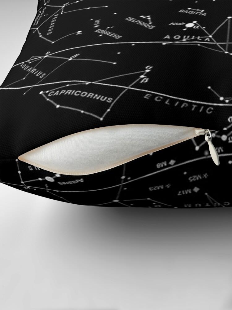 Alternative Ansicht von Sternbilder Dekokissen