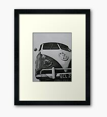 Split Screen VW Camper Framed Print
