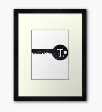 Key To Toronto Framed Print
