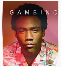 Childish Gambino Because The Internet Poster