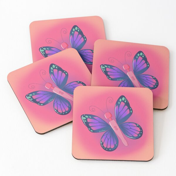 Buzzerfly Coasters (Set of 4)