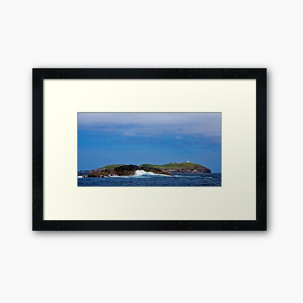 """South Solitary East Side from """"Black Rock Bommy""""  Framed Art Print"""