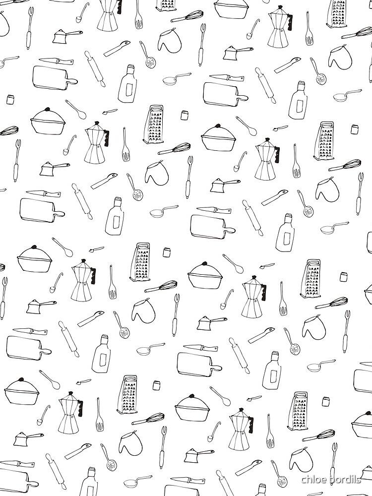 Elementos de cocina - Pattern de chloebordils