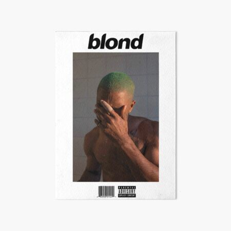 Frank Ocean - Blonde Art Board Print