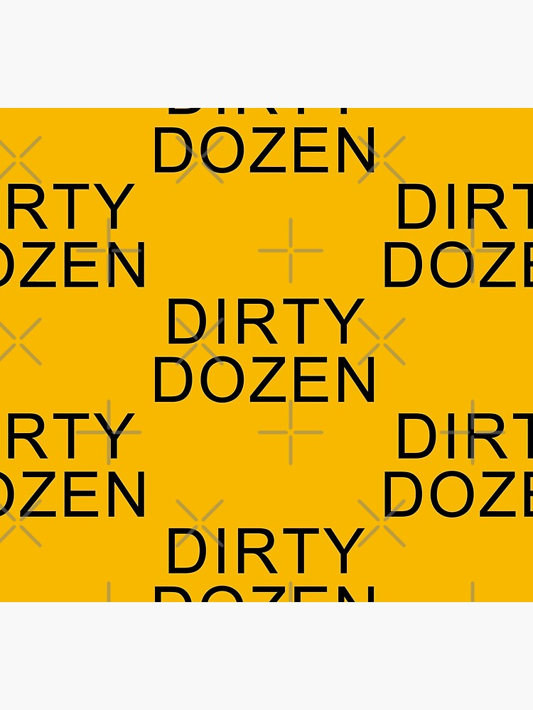 DIRTY DOZEN [AS WORN BY KEITH FLINT/PRODIGY] by phigment-art