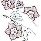 Magical Flowers by Aleksandra Kabakova
