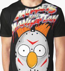 muppets beaker mashup friday the 13th Graphic T-Shirt