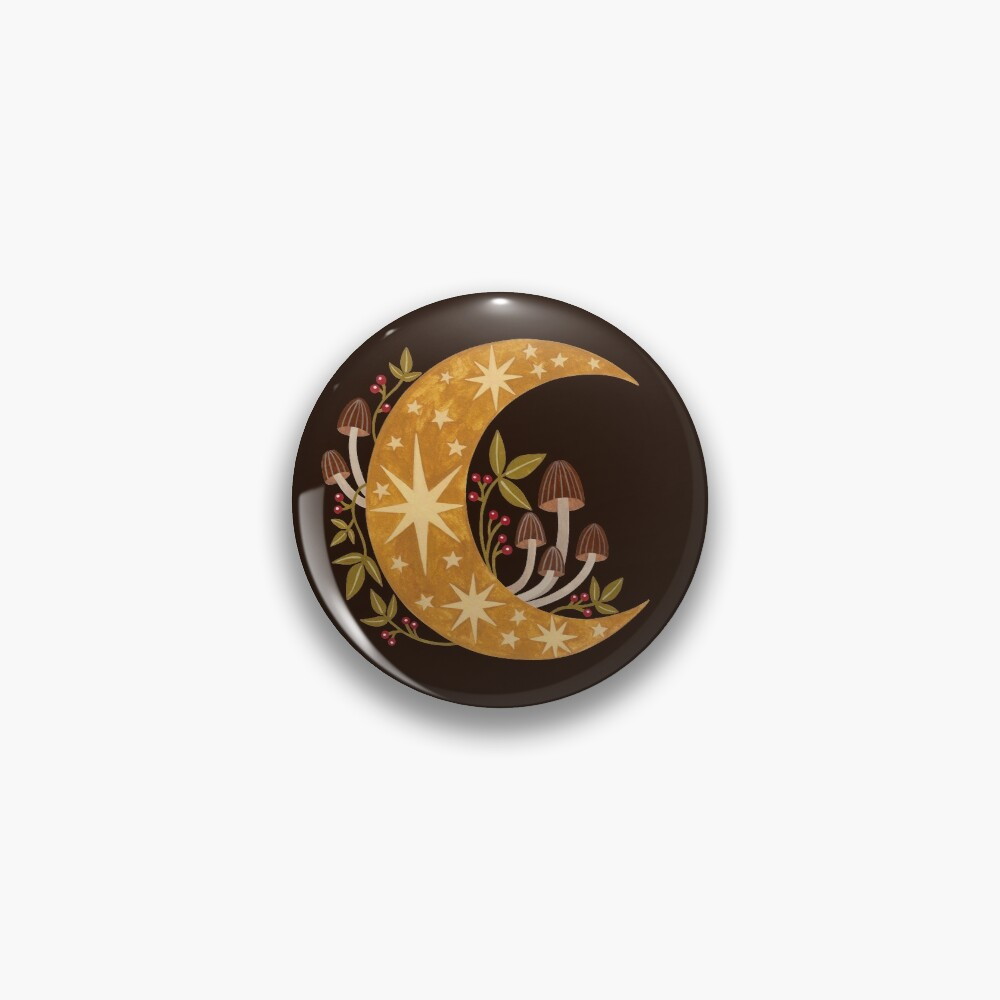 Forest moon Pin
