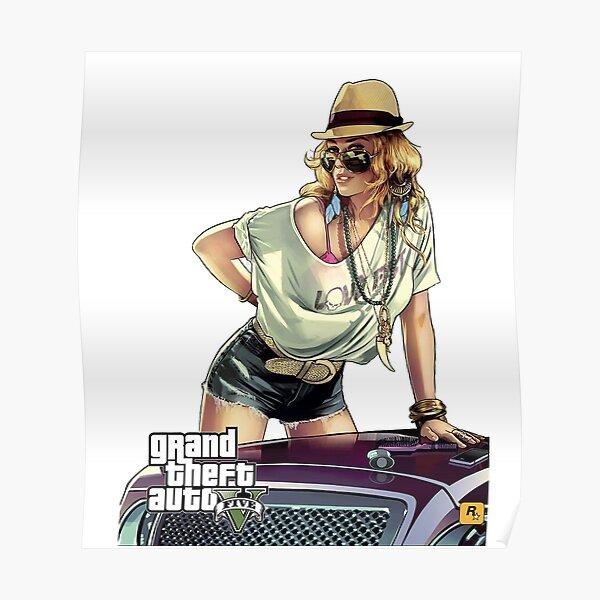 GTA5 Model  Poster