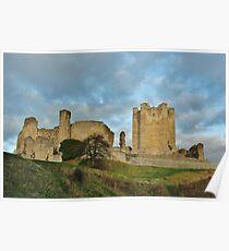 Conisbrough Medieval Castle Poster