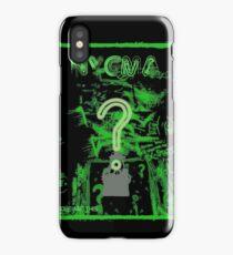Nygma Graffiti iPhone Case