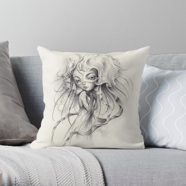 méduse Throw Pillow