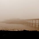 Pier in the Mist. by Livvy Young