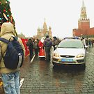 Santa Imposter Busted in Red Square by Jon Ayres