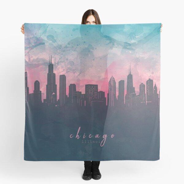 chicago skyline Scarf