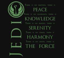 The Jedi Code - Green