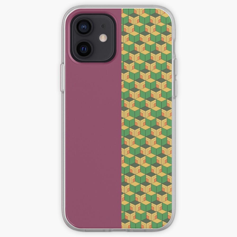 Giyuu Haori Pattern iPhone Case & Cover