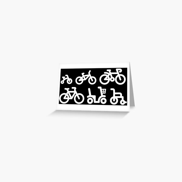 Evolution bicycle racing cycling bicycle racing  Greeting Card