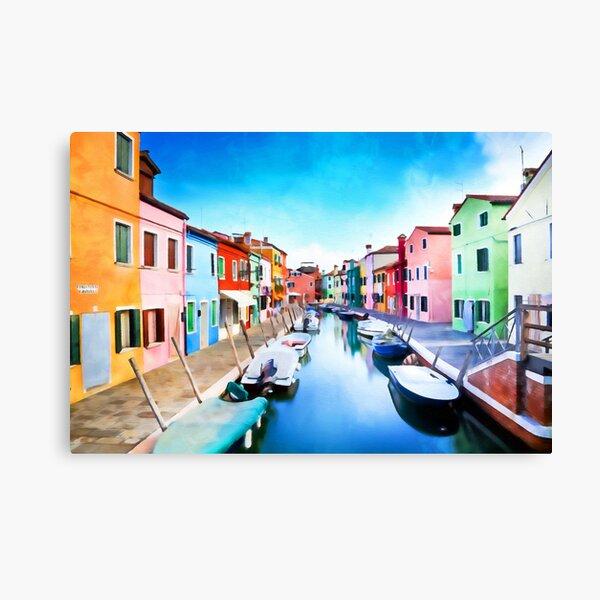 Burano, Italy Canvas Print