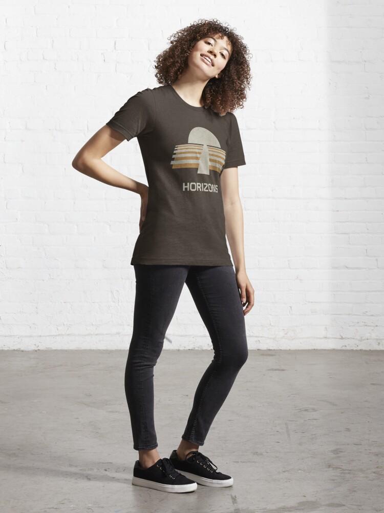 Alternate view of Horizons Essential T-Shirt