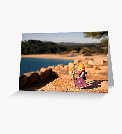 Indika Greeting Card