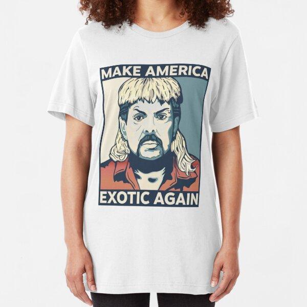 Machen Sie Amerika wieder exotisch - Joe Exotic Slim Fit T-Shirt
