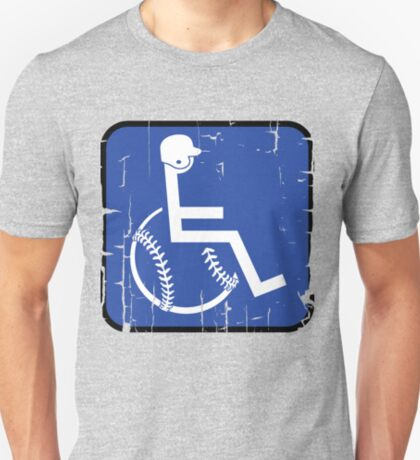 Handicapable  Sports: Baseball T-Shirt