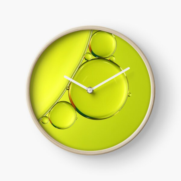Simply Lime Clock