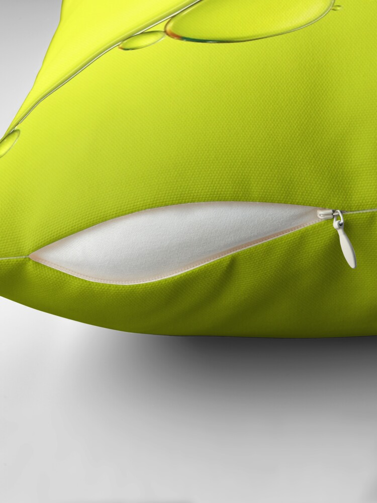Alternate view of Simply Lime Throw Pillow