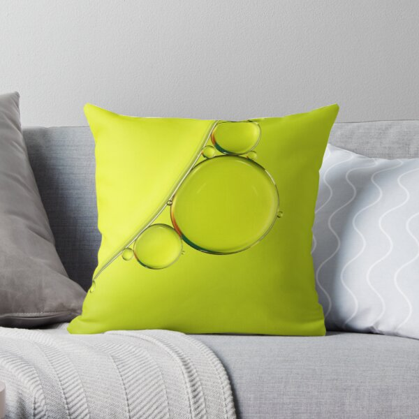 Simply Lime Throw Pillow